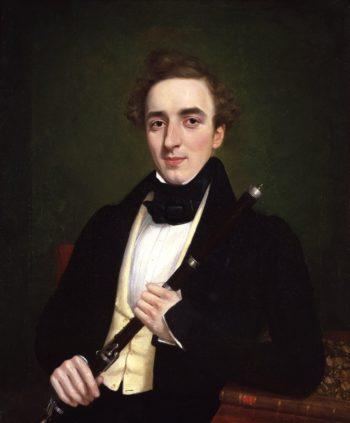 Charles Nicholson   T. Bart   oil painting