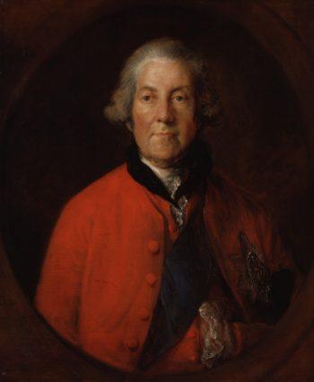 John Russell 4th Duke of Bedford   Thomas Gainsborough   oil painting