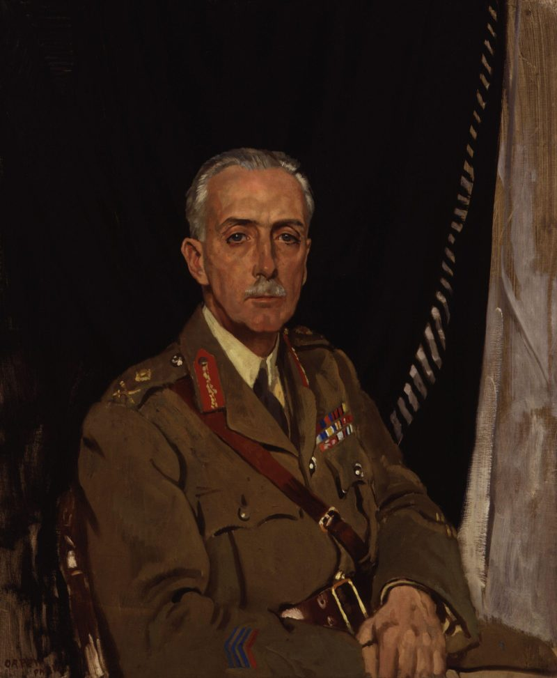 Charles Sackville West 4th Baron Sackville   Sir William Orpen   oil painting