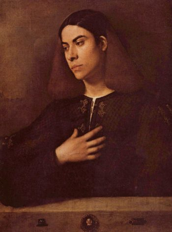 Portrat des Antonio Broccardo | Giorgione | oil painting