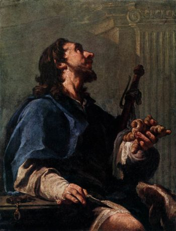 Saint Roch | Giovanni Battista Pittoni | oil painting
