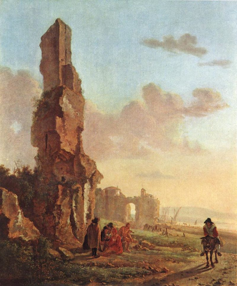 Ruins at the Sea | Jan Both | oil painting