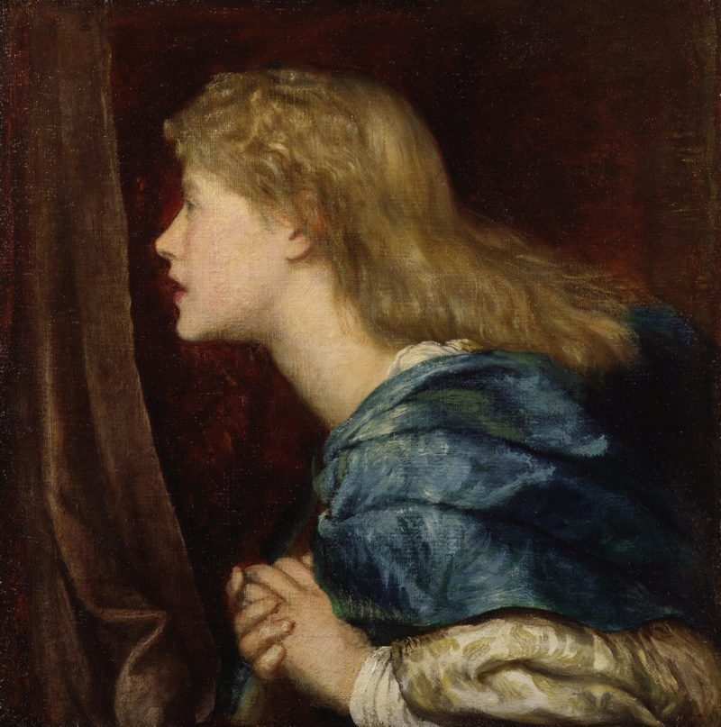 Dame Alice Ellen Terry | George Frederic Watts | oil painting