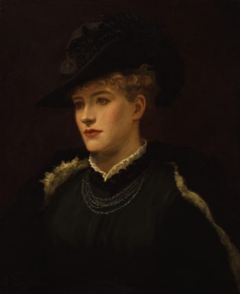 Dame Alice Ellen Terry | Sir Johnston Forbes Robertson | oil painting