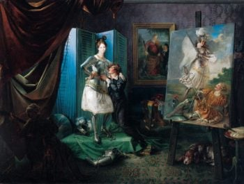 Josef Danhauser | Josef Danhauser | oil painting