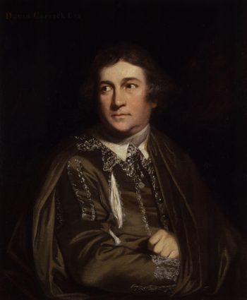 David Garrick as Kitely in Every Man in his Humour | Sir Joshua Reynolds | oil painting