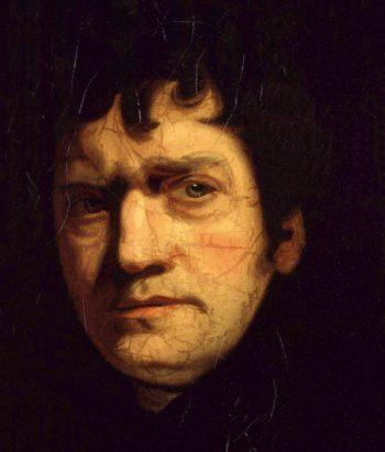 John Wolcot | John Opie detail | oil painting