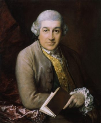 David Garrick | Thomas Gainsborough | oil painting