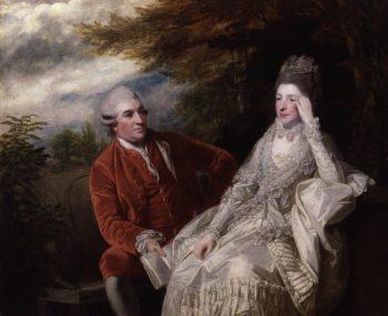David Garrick Eva Maria Garrick nae Veigel | Sir Joshua Reynolds | oil painting