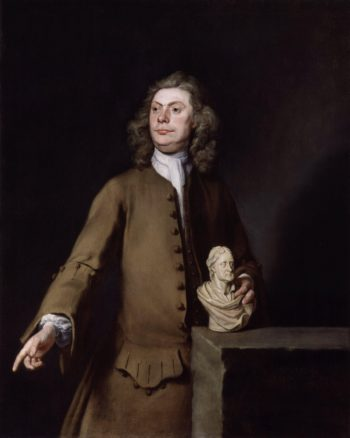 David Le Marchand   Joseph Highmore   oil painting