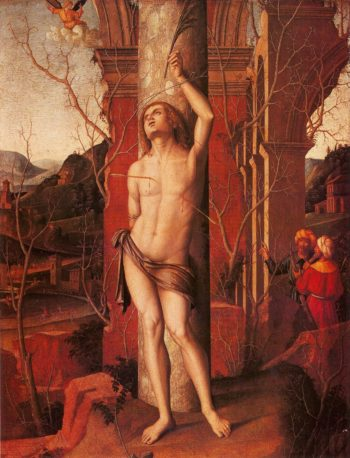 Saint Sebastian | Marco Palmezzano | oil painting