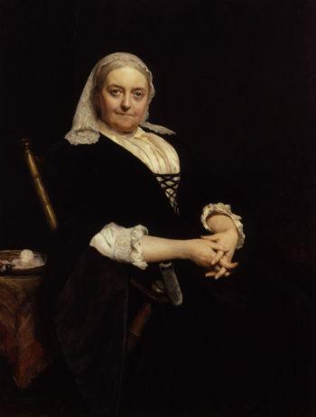 Dinah Maria Craik nae Mulock | Sir Hubert von Herkomer | oil painting