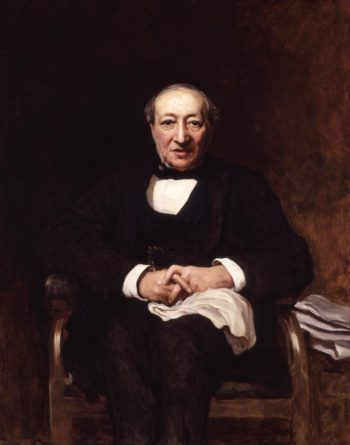 Joseph Moses Levy | Sir Hubert von Herkomer | oil painting