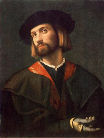 Portrait of a Man | Moretto da Brescia | oil painting