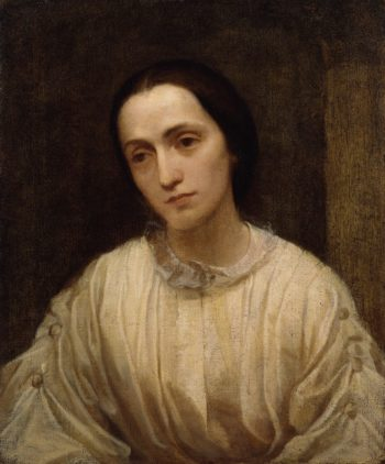 Julia Margaret Cameron   George Frederic Watts   oil painting