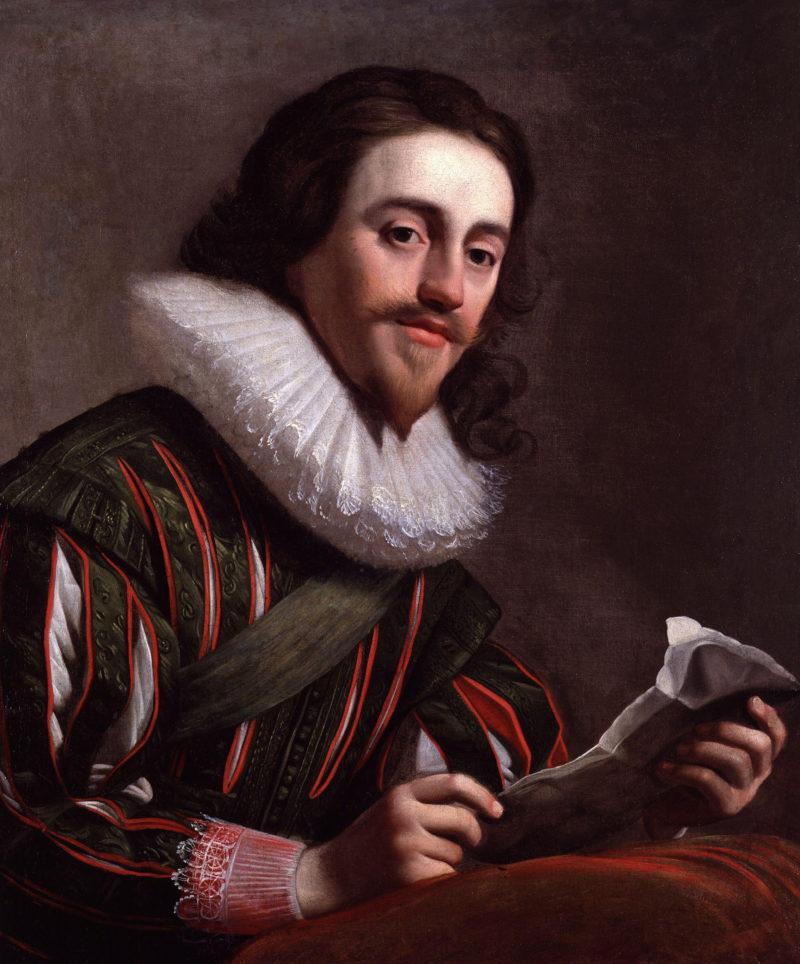 King Charles I   Gerrit van Honthorst   oil painting