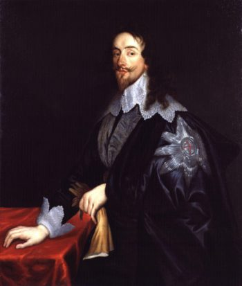 King Charles I   Sir Anthony Van Dyck   oil painting