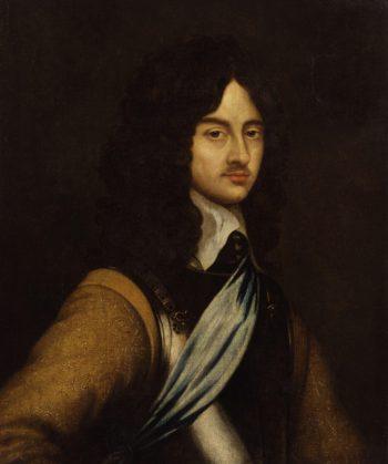 King Charles II | Adriaen Hanneman | oil painting