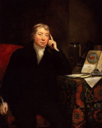 Edward Jenner   James Northcote   oil painting