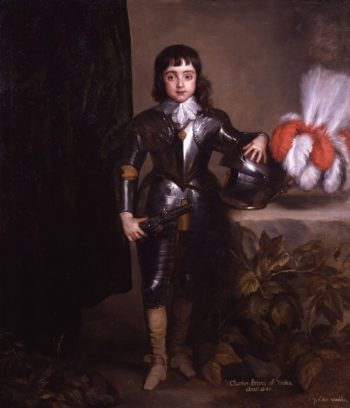 King Charles II   Sir Anthony Van Dyck and studio   oil painting