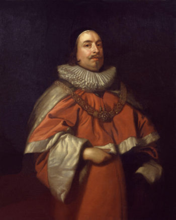 Edward Littleton Baron Littleton | Sir Anthony Van Dyck | oil painting