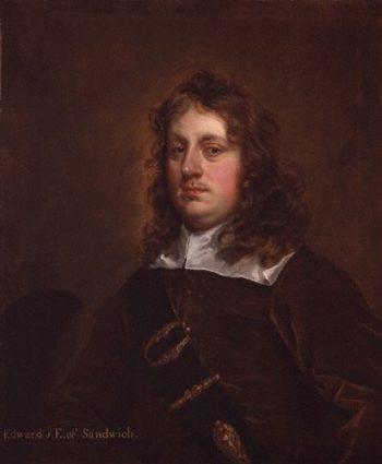 Edward Montagu 1   Unknown Artist   oil painting