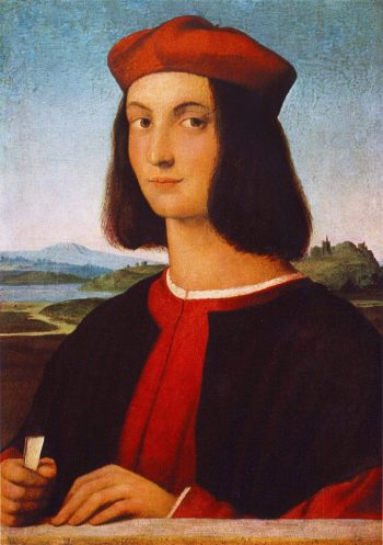 Retrato de Pietro Bembo | Raffaello Sanzio | oil painting