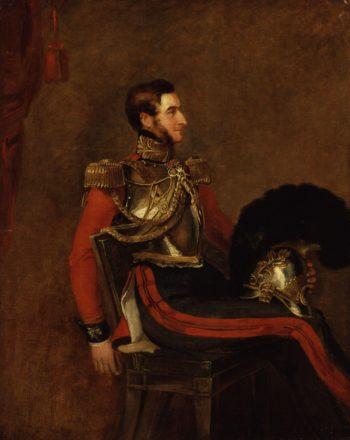 Edward Pyndar Lygon   William Salter   oil painting