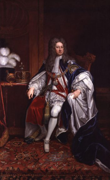 King George I | Sir Godfrey Kneller | oil painting