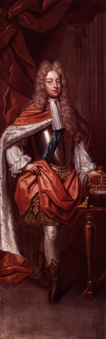 King George II | Sir Godfrey Kneller | oil painting
