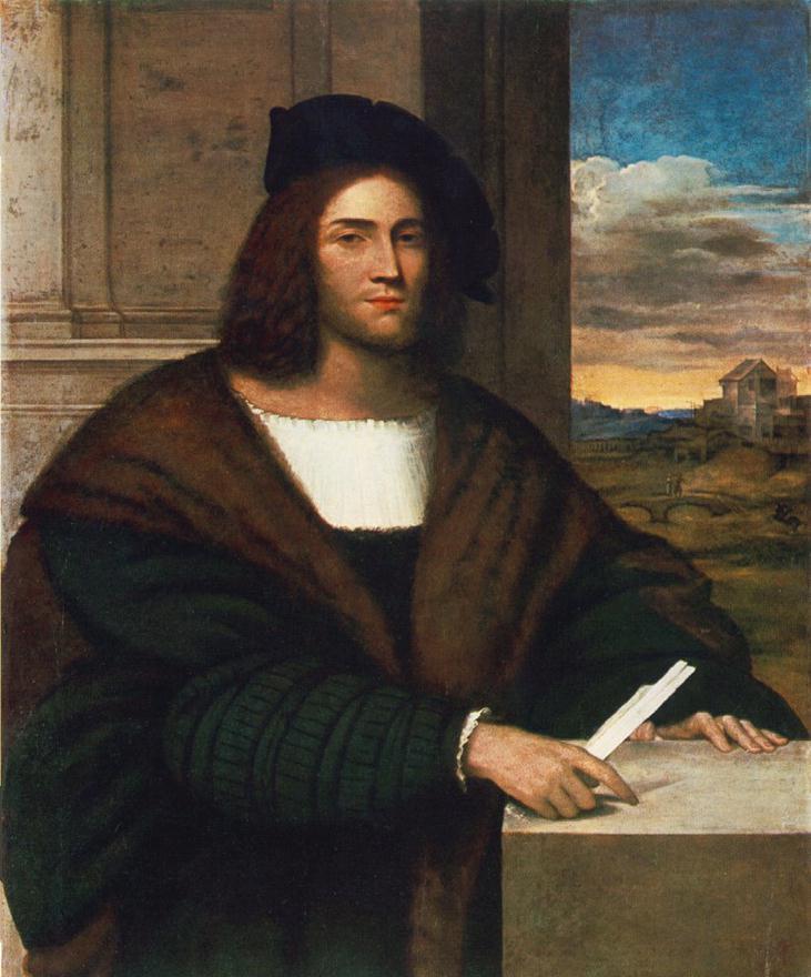Portrat eines Mannes   Sebastiano del Piombo   oil painting