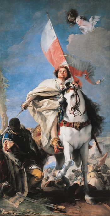 Tiepolos painting St Jacobus defeats the Moors | Tiepolo | oil painting