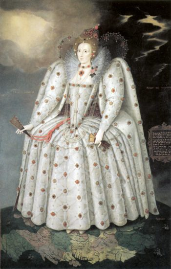 Elizabeth I Ditchley portrait | Unknown Artist | oil painting