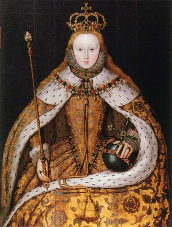 Elizabeth I of England   coronation portrait | Unknown Artist | oil painting