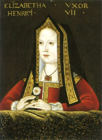 Elizabeth of York from Kings and Queens of England | Unknown Artist | oil painting