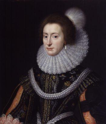 Elizabeth Queen of Bohemia | Michiel Jansz. van Miereveldt | oil painting