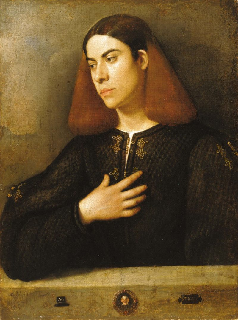 Giorgione Budapest   Unknown Artist   oil painting