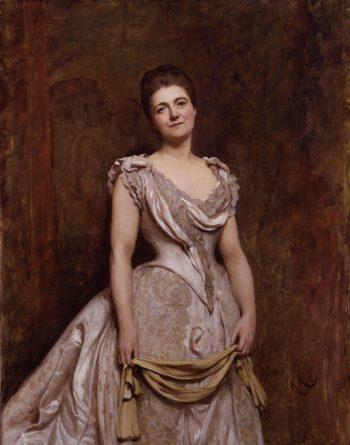 Emilia Francis nae Strong Lady Dilke | Sir Hubert von Herkomer | oil painting