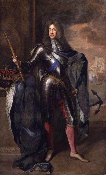 King James II | Sir Godfrey Kneller | oil painting