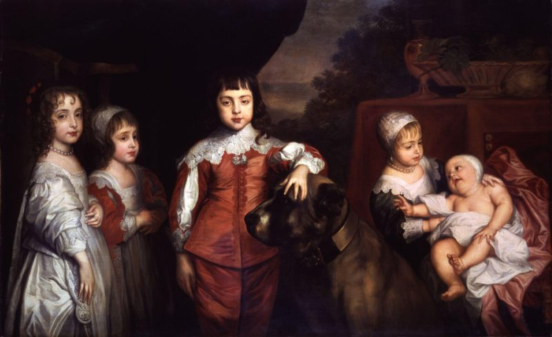 Five Children of King Charles I after Sir Anthony Van Dyck | Unknown Artist | oil painting