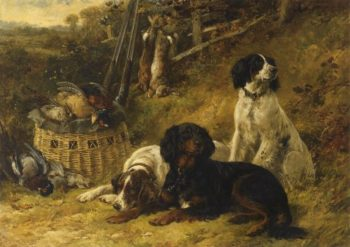 The First October 1884 | James Jr Hardy | oil painting