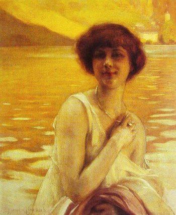 portrait of a lady | Paul Emile Chabas | oil painting