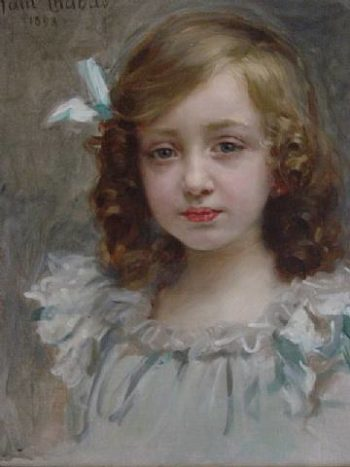 portrait of a young girl | Paul Emile Chabas | oil painting