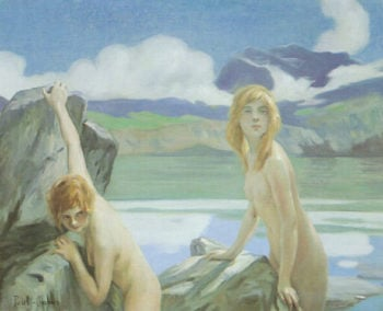 Two Bathers | Paul Emile Chabas | oil painting