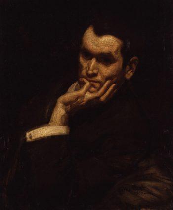 Francis Derwent Wood | George Washington Lambert | oil painting