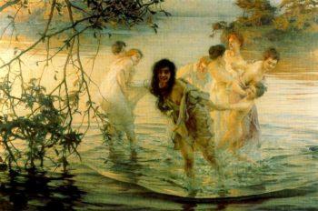 Joyous Frolics | Paul Emile Chabas | oil painting