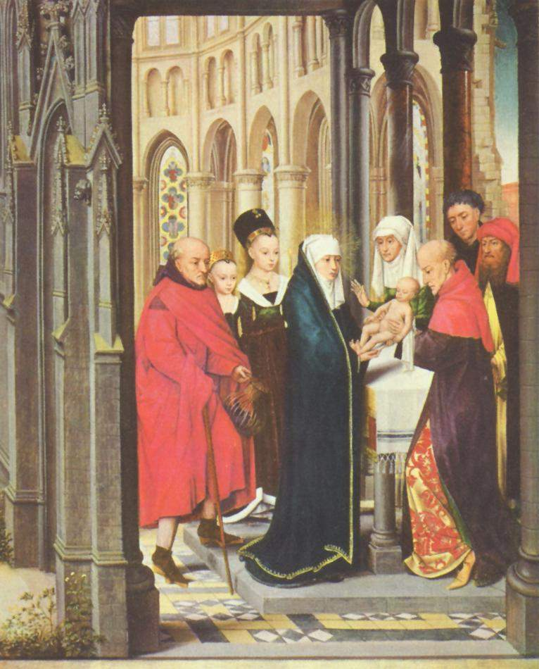Darstellung Christi im Tempel | Pupil of Rogier van der Weyden | oil painting
