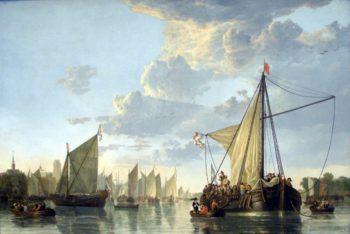 Hafen von Dordrecht | Aelbert Cuyp | oil painting