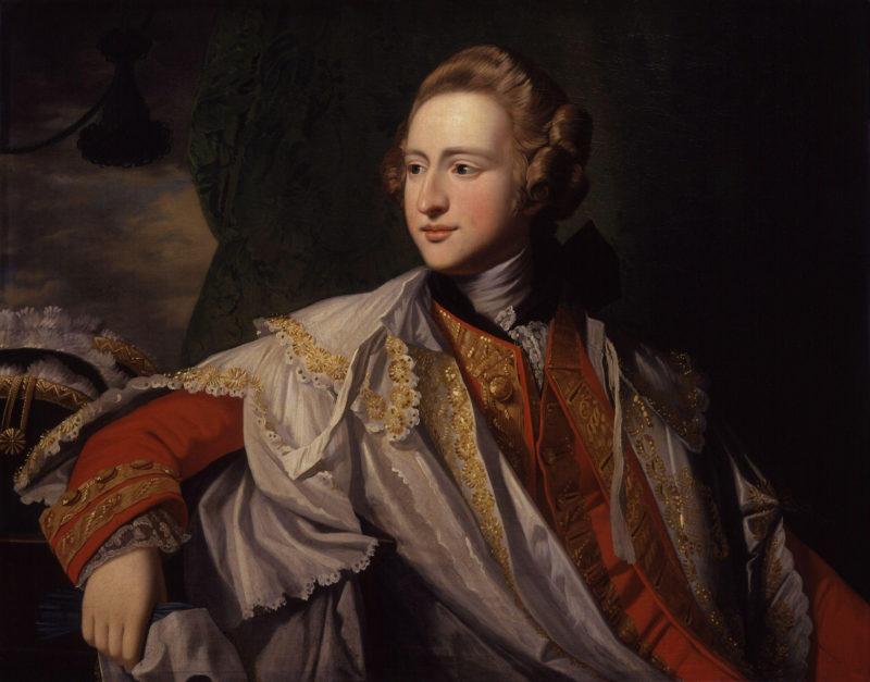 Francis Osborne 5th Duke of Leeds | Benjamin West | oil painting