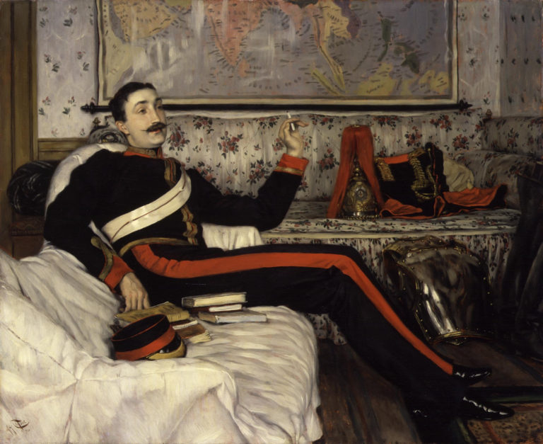 Frederick Gustavus Burnaby | James Jacques Tissot | oil painting